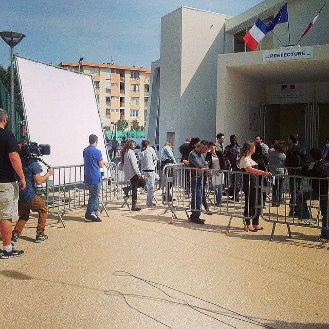 tournage de court métrage imagista à Hyères var