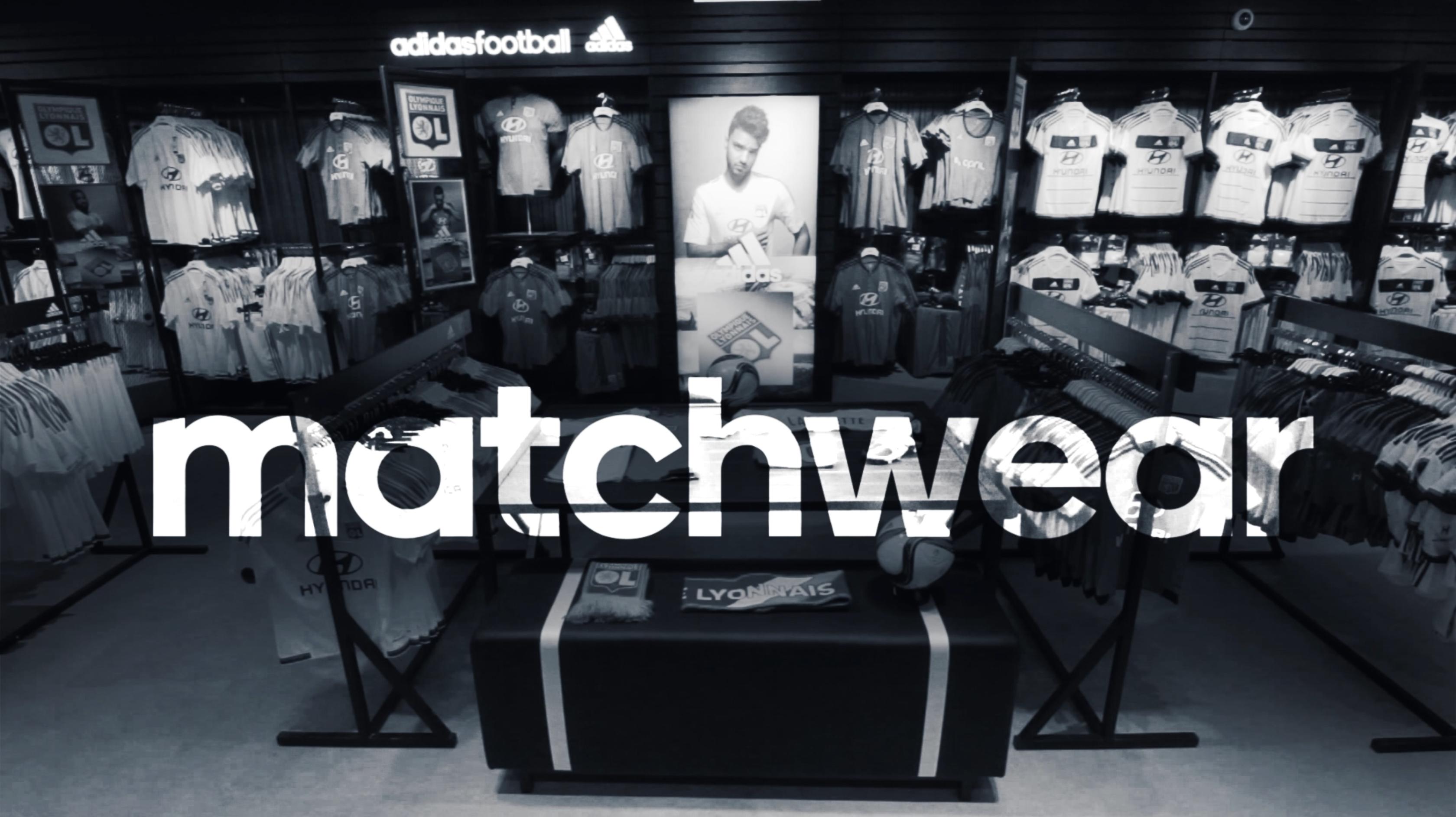 design graphique pour film boutique adidas Lyon