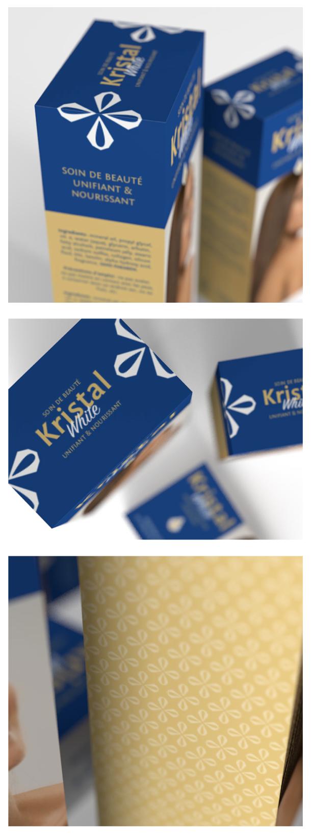 packaging produit de beauté