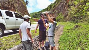 Dominican republic drone shooting for corporate video