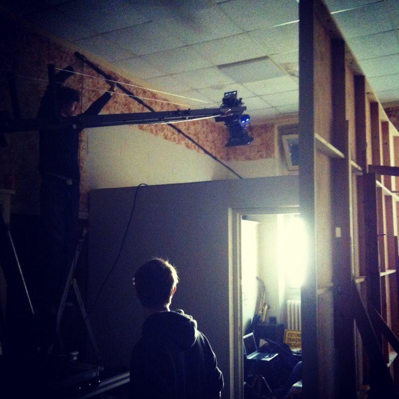 tournage d'un court métrage dans les hauts de seine