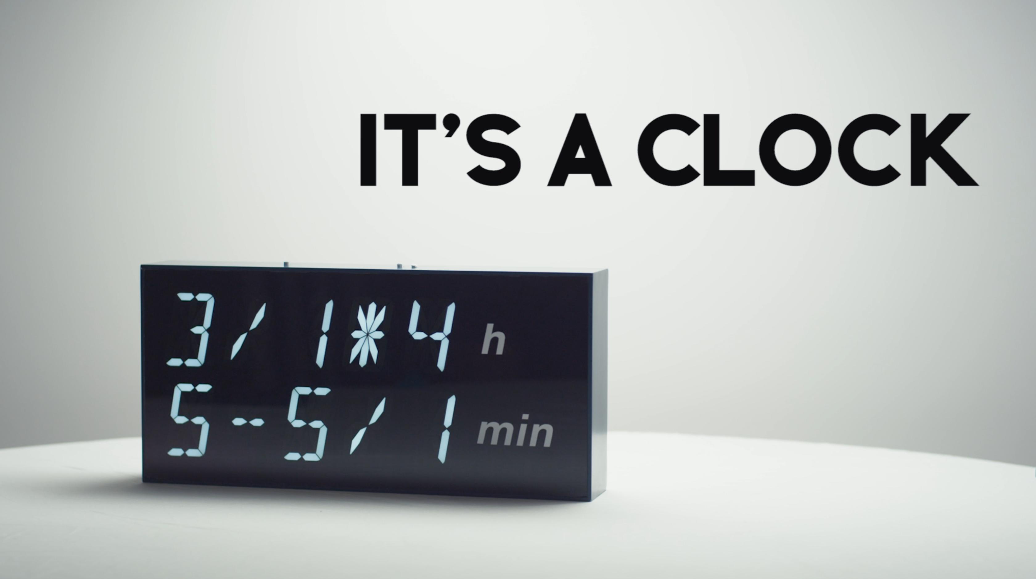 video crowd funding de startup Albert Clock