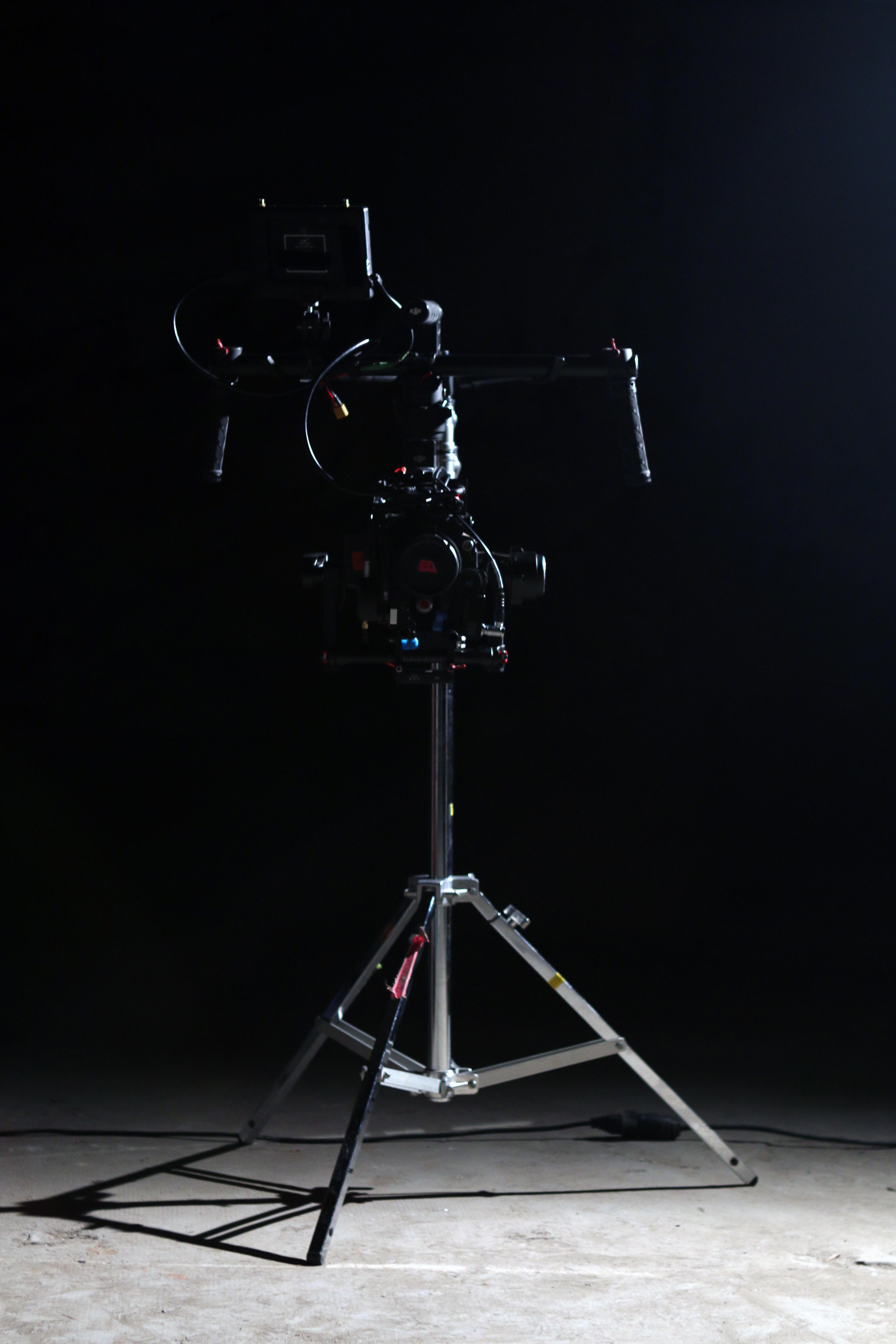 Tournage film publicitaire avec camera red et Ronin