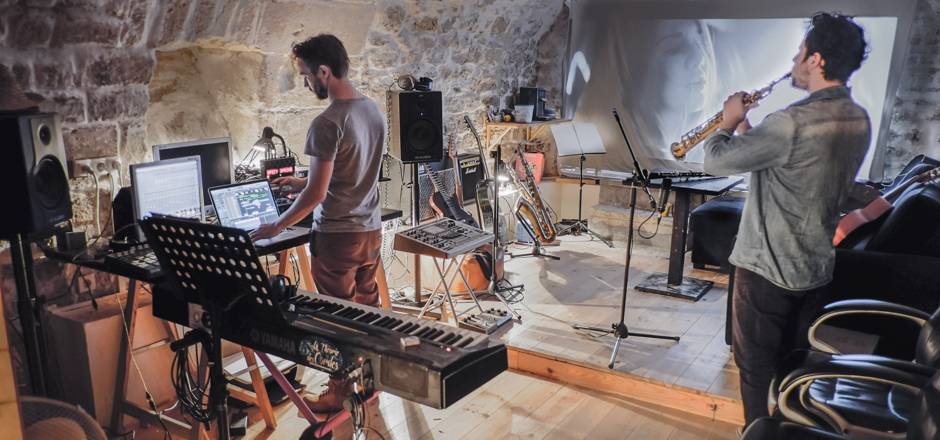 studio d'enregistement musique post production iamgista Paris