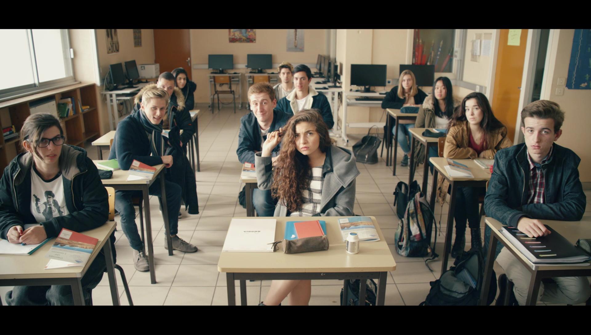 comédiens en classe film UIMM